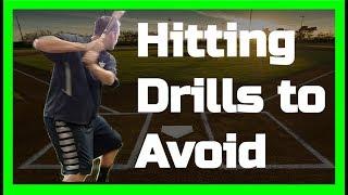 Baseball Hitting Drills to Avoid
