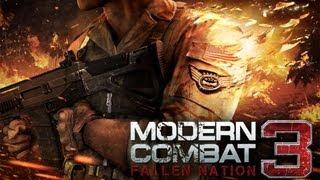 Modern Combat 3: Fallen Nation - First Mission - iPad 2 - HD Video Walkthrough - Part 2