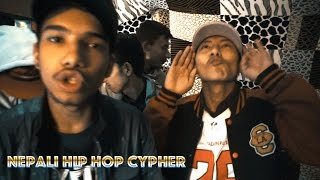 GORKHALI BLOOD CYPHERS ft VTEN, VSX AND SARAH | Nepali Hip Hop