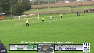 Regional Boys Soccer - Bethany Christian vs Bremen