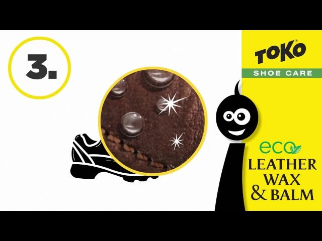 Видео Воск Toko Leather Wax black silicon 75ml