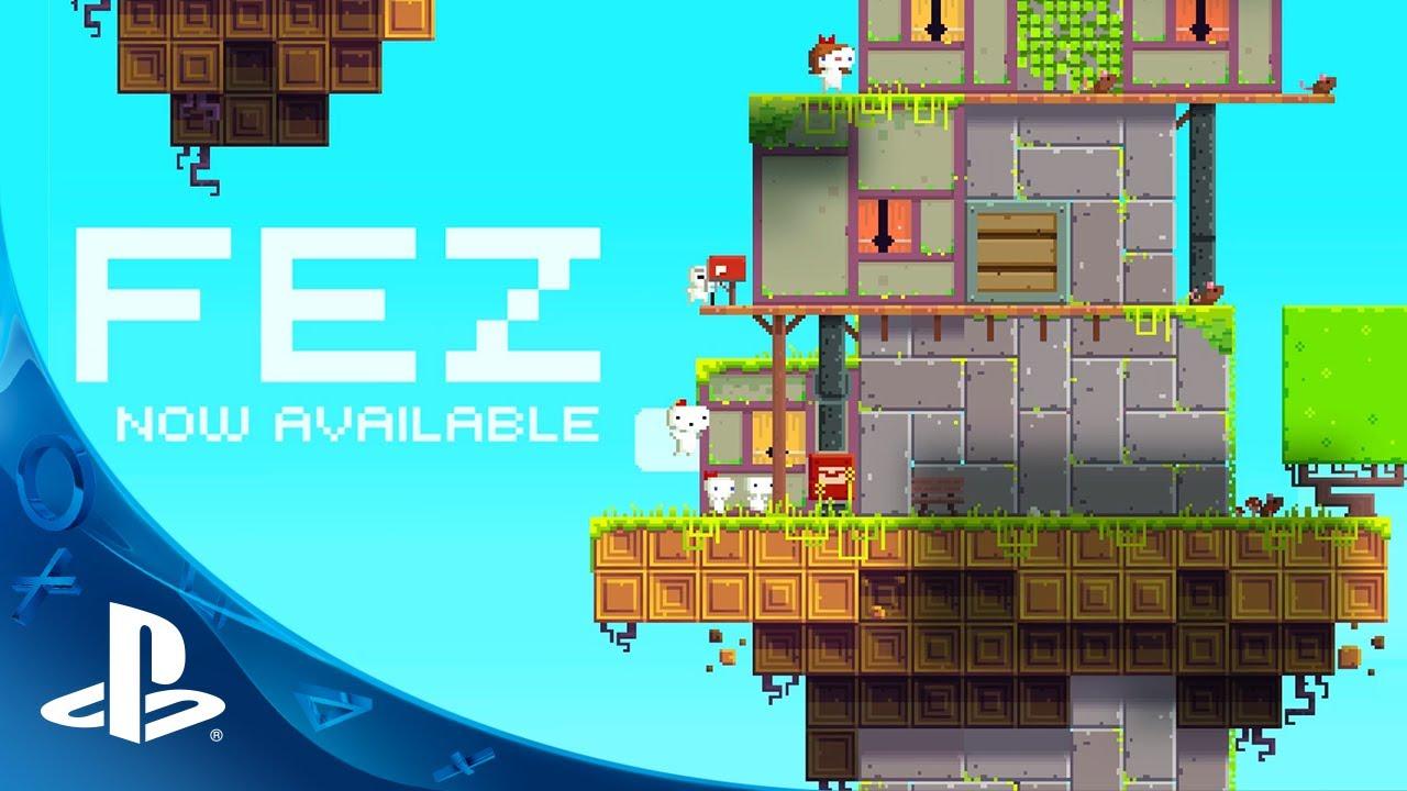 FEZ hoy a la venta para  PS4, PS3, Vita