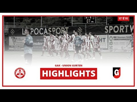 Regionalliga Mitte - 26. Runde: GAK - Union Gurten