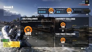 Season 8 Week 3 Solo Challenge 1 - Ghost Recon Wildlands