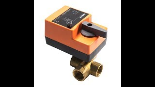 Fast Running Control Ball Valve - 3-Way AC