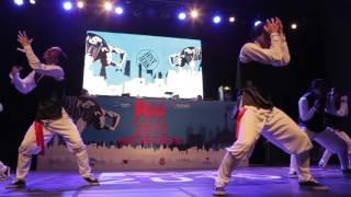 JUST JERK - Performance @ R16 2015 Korea   Dailydance TV