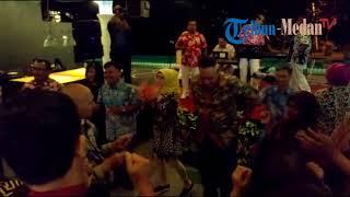 Permainan Ular Naga Warnai Silaturahmi Irjen Pol Paulus Waterpauw di Sibolangit