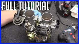 Service Throttle Body Toyota Highlander V6