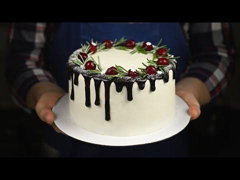 Как приготовить красивый торт на новый год