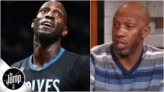 Chauncey Billups explains how he helped convince Kevin Garnett to leave Timberwolves | The Jump