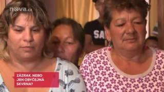 Televizní noviny 19.10.2016 - Ježíš z trouby v romské osadě