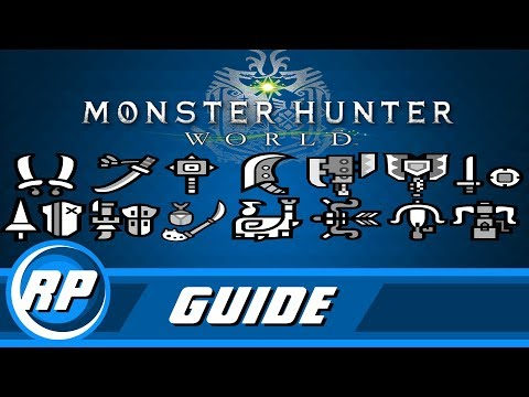 Monster Hunter World - Master Weapon Progression Guide (Recommended Playing) Mp3