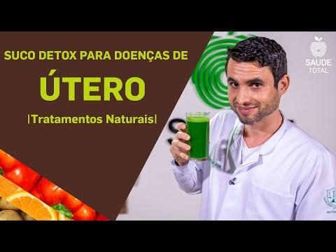 Suco detox para doenças do útero | Tratamentos Naturais | Saúde Total