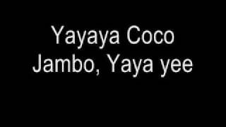 Coco Jambo  Mr. President (Lyrics)
