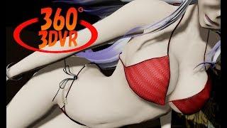 [360 VR 3D MMD]ハクがRay-MMDでTe Amo(Short ver)/Rihanna