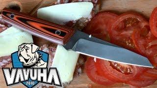 Нож Уракова R700 сталь 95Х18. Обзор и тест.