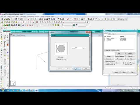 STAAD Pro Basic Tutorial for Beginners ( Day 1 ) ( Civil Engineering ...