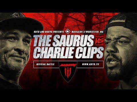 KOTD - The Saurus vs Charlie Clips - #MASS3