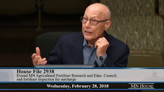House Agriculture Policy Committee  2/28/18