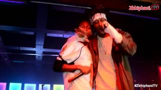 Yung Swiss performs Money
