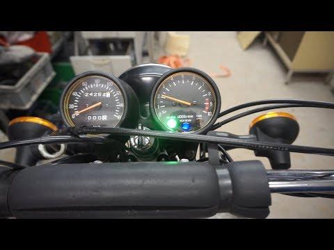 Yamaha XT 250 Drehzahlmesser und Ölwechsel