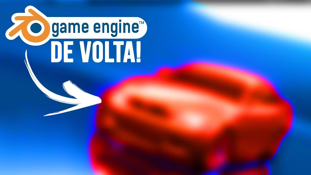 Nova GAME ENGINE no BLENDER 2.8 (EU TESTEI!)
