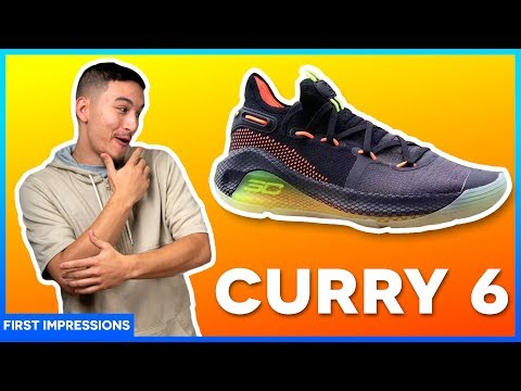 UNDER ARMOUR CURRY 6 – Review/First Impression