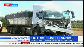 Outrage over rise in death toll following the high number of road accidents