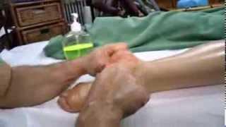 Lectia de masaj cu Dan Alexoae masajul picioarelor