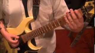 How to play Super 70's by Andy Timmons on guitar by Mike Gross