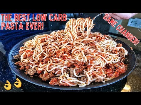 Healthy Low Carb Bodybuilding Pasta Recipe | GAMECHANGER!!