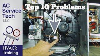 TOP 10 Gas Furnace, PRESSURE SWITCH Error Code Problems!