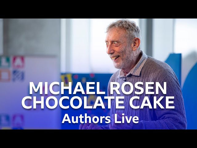 Michael Rosen Performs His Poem Chocolate Cake | Authors Live | BBC Scotland
