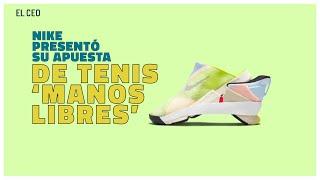 Nike presentó su apuesta de tenis 'manos libres'
