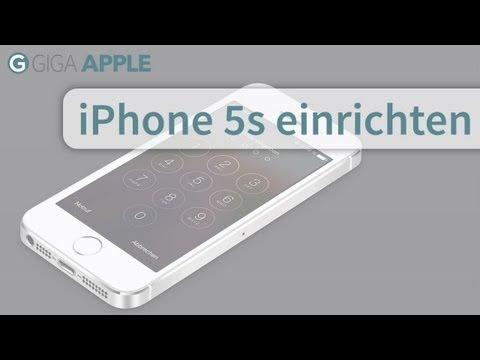 iPhone 5s einrichten - Tutorial How-to