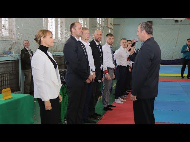 Ольга Бабенко на открытии Всеукраинских соревнований по джиу-джитсу