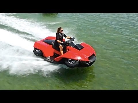 Introducing Quadski - A Cool Versatile Vehicle!