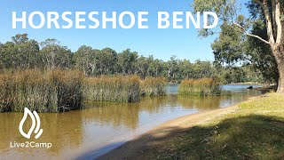 Horeseshoe Bend - Murray River Victoria