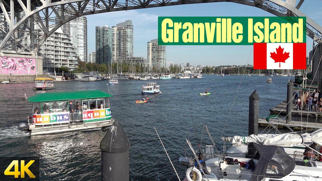 Granville Island, Vancouver B.C. Canada | Walking Tour