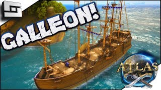 ATLAS: Galleon Vs Ship Of The Damned! Atlas Gameplay / Let's Play E6