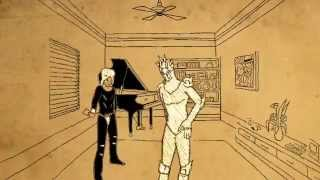JoJo's Bizarre Adventure Weather Report Animation(rotoscope) Virtual Insanity 手描きジョジョ(トレス)