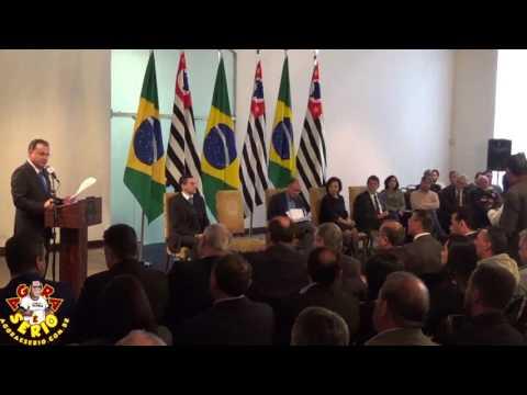 Secretário Chefe da Casa Civil de São Paulo Deputado Federal Samuel Moreira (PSDB-SP)