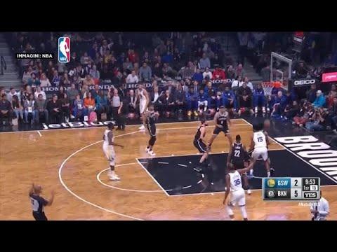 NBA: Πέρασαν και από το Μπρούκλιν οι Ουόριορς
