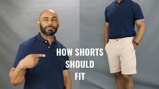 How Mens Shorts Should Fit