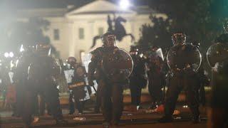 Mort de George Floyd : heurts près de la Maison Blanche, les tensions ne faiblissent pas