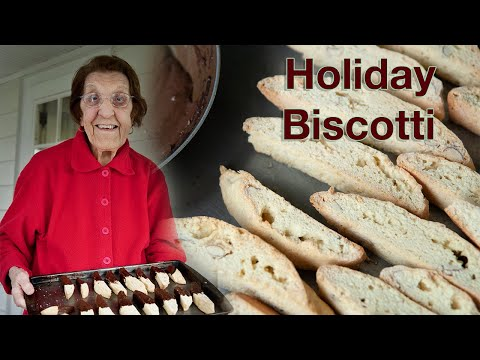 Holiday Cooking with Clara – Holiday Biscotti – 2010