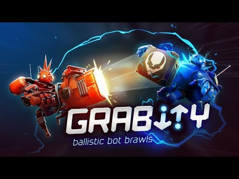 Grabity is a physics-based arena brawler where 2-4 players wield grab guns to turn objects into lethal projectiles or makeshift shields.
