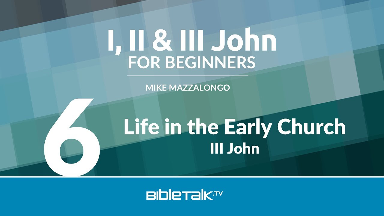 6. Life in the Early Church