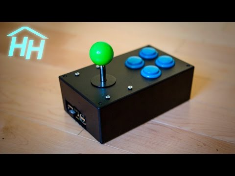 Build Your Own Portable Arcade Stick With A Raspberry Pi-Powered Console Packed Inside