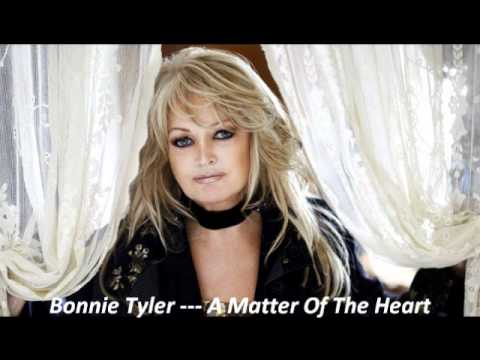 BONNIE TYLER --- A MATTER OF THE HEART
